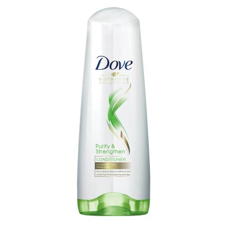 Omni Hair Detox Results by Dove Nutritive Solutions Purify Strengthen Conditioner