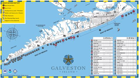 beaches in texas map maps update 1100544 galveston tourist map galveston map island guide magazine 63 more