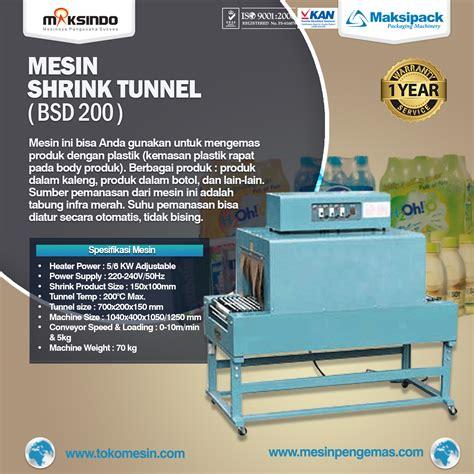 Jual Produk Oxone Di Bandung jual mesin shrink untuk pengemasan produk dalam plastik di