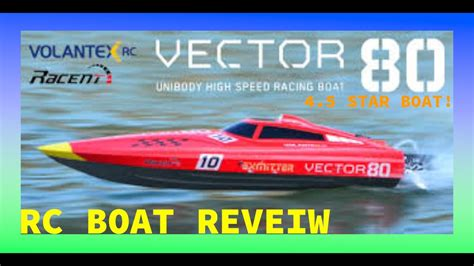 vector 80 rc boat vector 80 rc boat review youtube