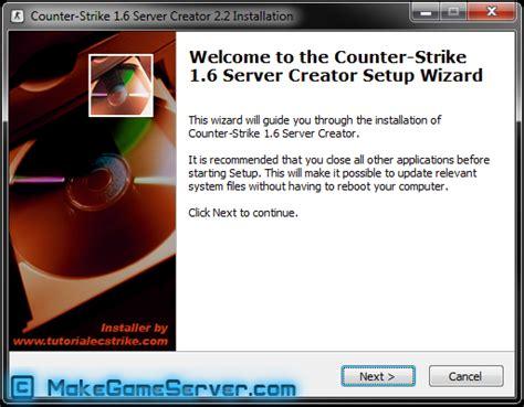 How To Build A L Server by Makegameserver How To Make A Cs 1 6 Server How To Make