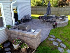 patio area should i use concrete or pavers for my chicagoland patio archadeck outdoor living