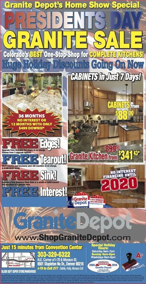 Kitchen And Bath Cabinets Granite Depot Weekly Ad