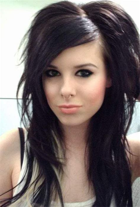 emo hairstyles for adults emo hairstyles emo haircuts for girls with long hair and