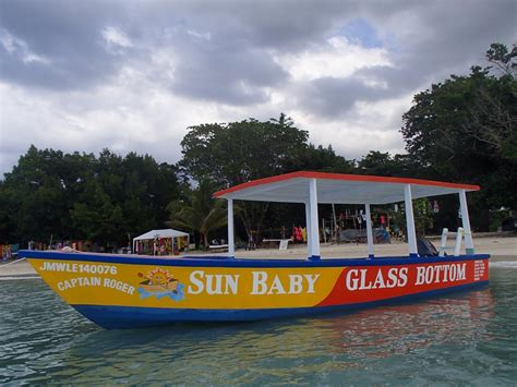 glass bottom boat experience 23 reasons your next caribbean vacation should be to jamaica
