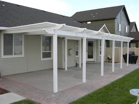 patio covers white