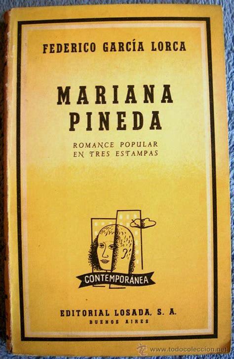 mariana pineda romance popular 9505810776 mariana pineda romance popular en tres esta comprar libros de teatro en todocoleccion