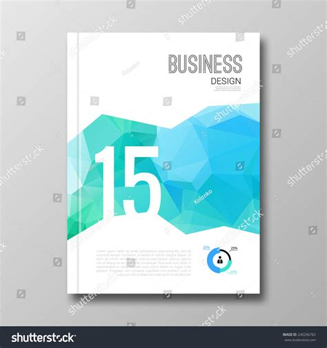 mockup design layout business design background cover brochure magazine stock