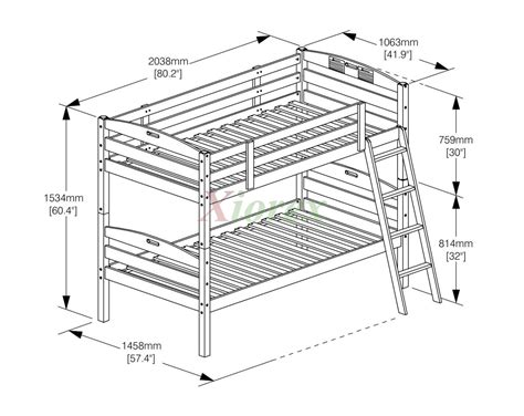 Dimensions Of A Bunk Bed Bunk Bed Bunk Bed And Day Sesame Bunk Bed Sets