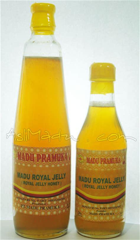 Royal Honey Paduan Madu Murni Plus Royal Jelly Bee Pollen manfaat dan khasiat madu royal jelly pramuka