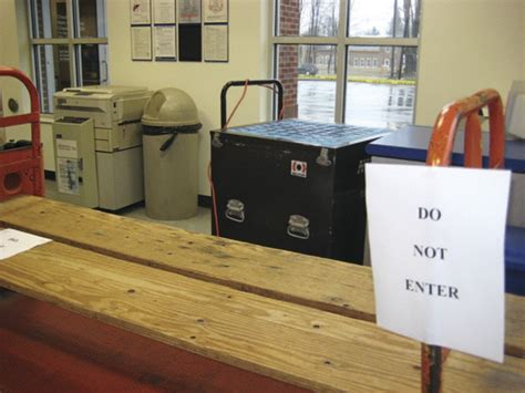 second vehicle hits post office this year geauga county