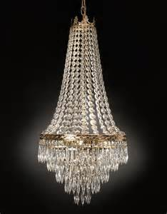 4 Light French Empire Crystal Chandelier Kitchen Dining Or Ebay Chandelier