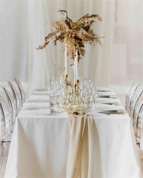 23 non floral wedding centerpiece ideas martha stewart weddings