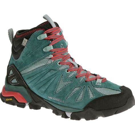 womans hiking boots merrell capra mid waterproof hiking boot s