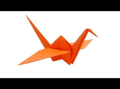 Folding Paper Birds - paper bird origami flapping bird easy steps
