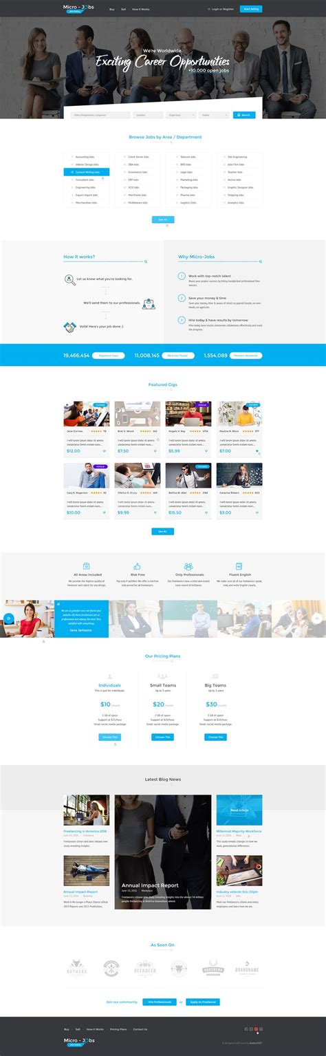 themeforest jobcareer best 25 job portal ideas on pinterest resume photo