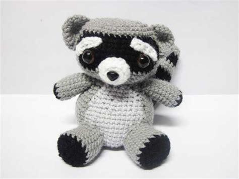 amigurumi raccoon pattern free rocky raccoon amigurumi pattern amigurumipatterns net