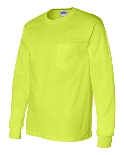 Sleeve Color Gildan 100 Original gildan mens ultra cotton sleeve t shirt with pocket