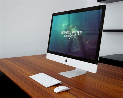 Mockup Desk by Minimalistic Office Workspace Mockup Mockup Templates