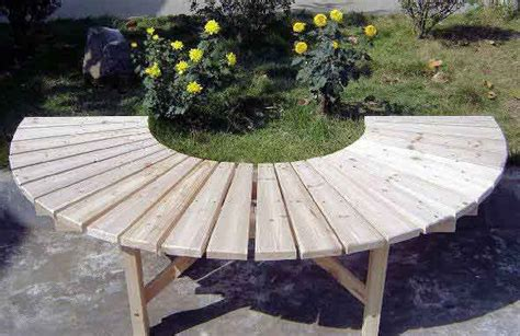 diy half circle bench diy circular tree bench plans free