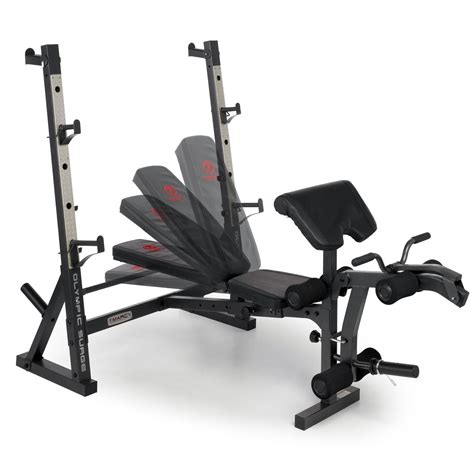 marcy olympic bench diamond olympic surge weight bench home gym workout