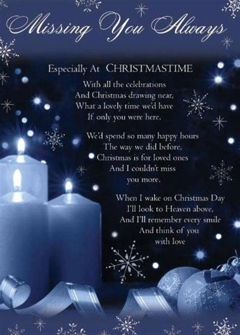 Christmas Missing Loved Ones Quotes. QuotesGram