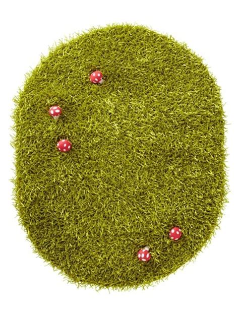 grass green rug grass rug with toadstools verbaudet bedroom gardens garden of and
