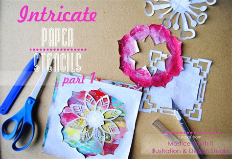 Best Paper To Make Stencils - intricate paper stencils part 1