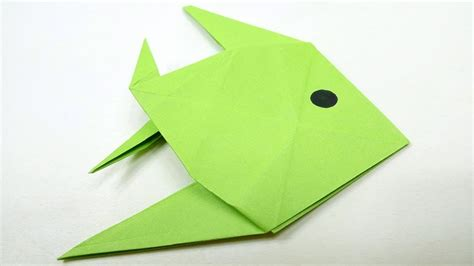 Fish Origami Tutorial - easy origami fish diy origami for origami tutorial