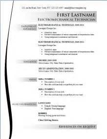 Resumes Templates Free by Free Cv Templates 163 To 169 Free Cv Template Dot Org