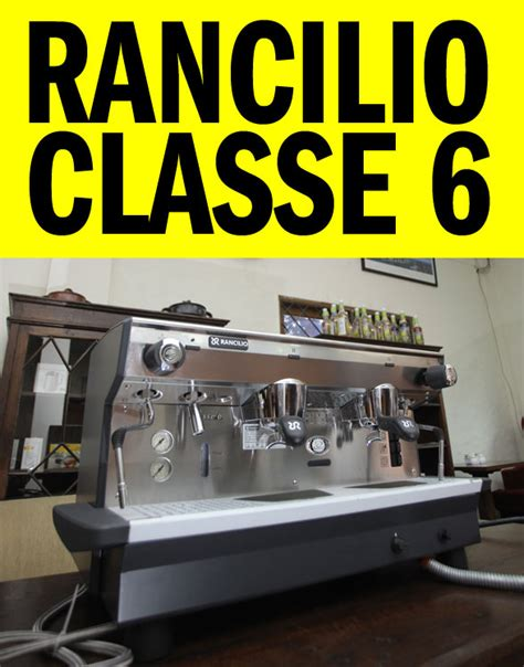 Mesin Kopi Rancilio rancilio classe 6 cikopi
