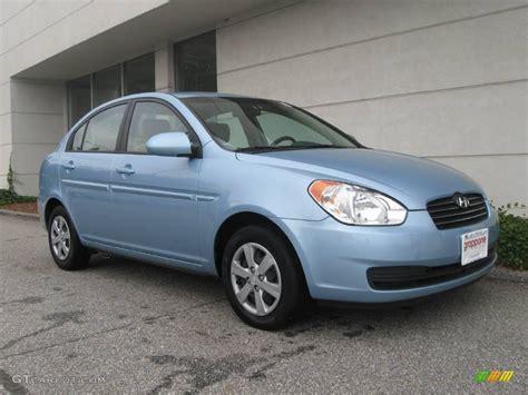 Blue Hyundai Accent by 2008 Blue Hyundai Accent Gls Sedan 18446695 Photo 3