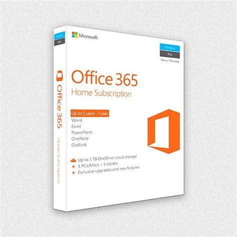 microsoft office 365 home premium 5 licenses pc mac
