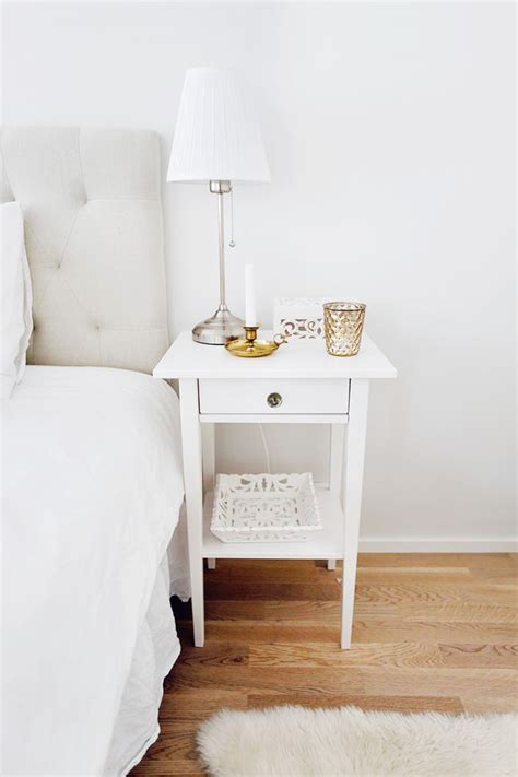 white night tables for bedroom ikea s hemnes night stand with crystal knobs from zara