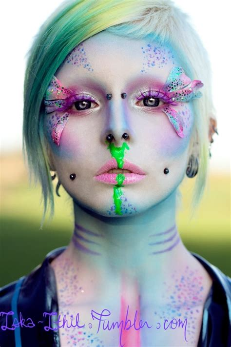 Eyeshadow Pixy epic pixie makeup alternative fashion