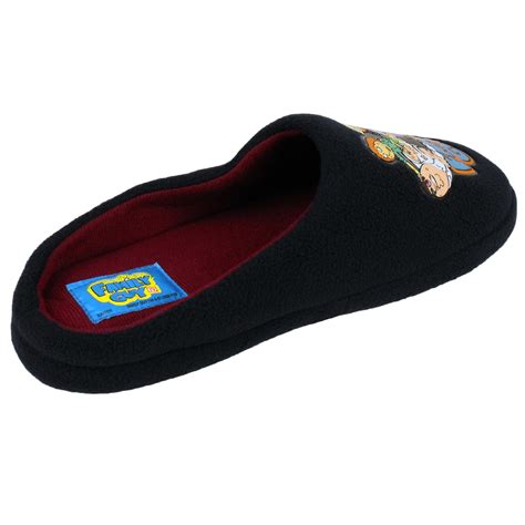 the simpsons slippers mens family the simpsons slipper classic novelty mule