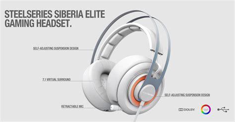 Headset Steelseries Siberia Elite steelseries launches siberia elite gaming headset softpedia