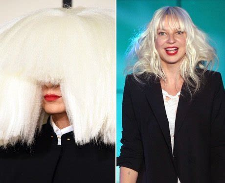 does sia wear a wig does sia wear a wig photos of sia without her wig even