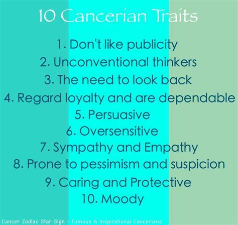 cancer zodiac traits cancerian pinterest we sums it