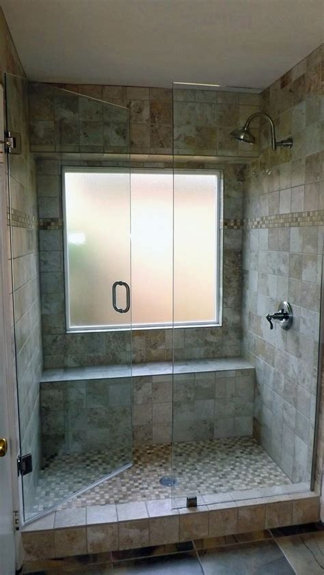 Shower Door And Window Tile Bathroom Design With Glass Shower Door And Tub To Shower Conversion Ideas Also Shower
