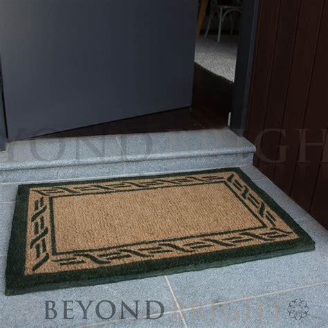 heavy duty outdoor rugs doormat 55x90cm gate coir door mat outdoor rugs heavy duty ebay