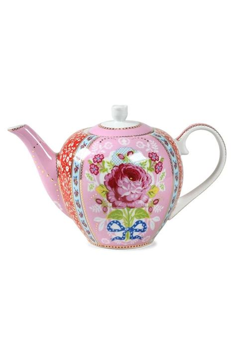Etagere Pip by Pip Studio The Official Website Floral Tea Pot Pink