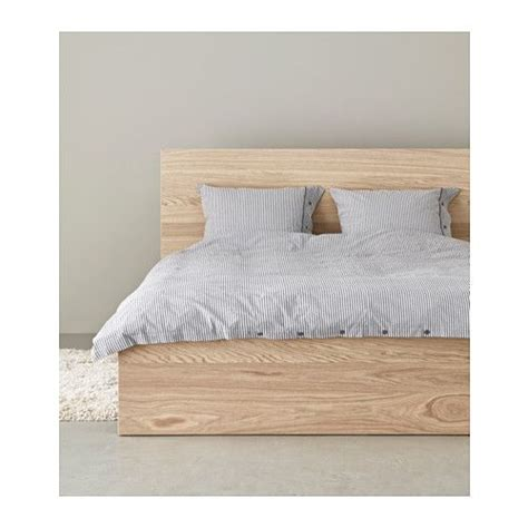 malm bed malm bed frame high white stained oak veneer lur 246 y mattress bed in and ikea malm
