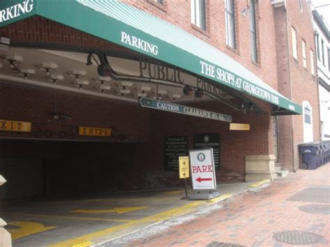 georgetown mall garage now open 24 hours daily