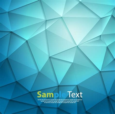 blue triangle pattern vector background abstract blue triangle geometrical background vector