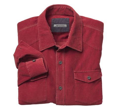 Corduroy Shirt washed corduroy shirt johnston murphy