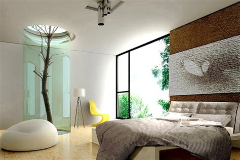 Bedroom Tree Plants How To Decorate With Trees Twigs Logs And Branches