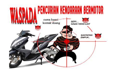 Kunci Pengaman Sepeda Motor Nankai alarm motor alsento dengan sensor sentuh ganda asesoris
