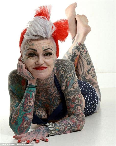 woman covered in tattoos 37 best images on