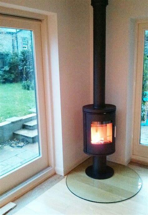 Glass Fireplace Hearth by Morso 6148 On Teardrop Glass Hearth Glass Hearths